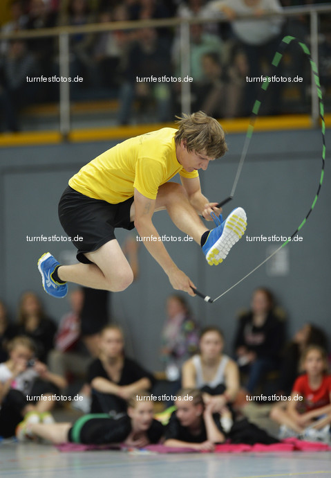 Deutsches Turnfest 2013: DM Rope Skipping in Frankenthal, LORKE Nicolai
