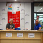 Deutsches Turnfest 2013: Infocounter in Schule